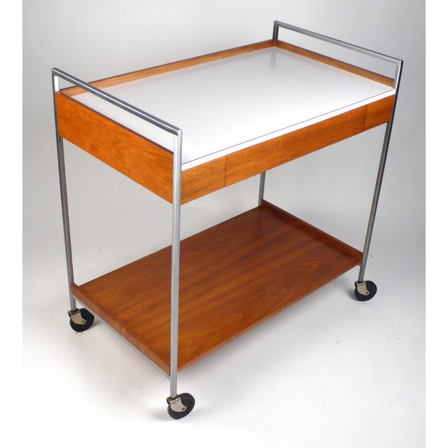 Mid-Century Modern Rare Server by George Nelson For Sale - Image 3 of 10