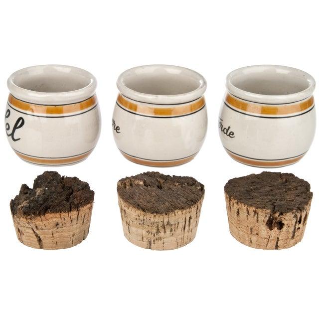 Vintage French Spice Crocks - Set of 3 - Image 2 of 3