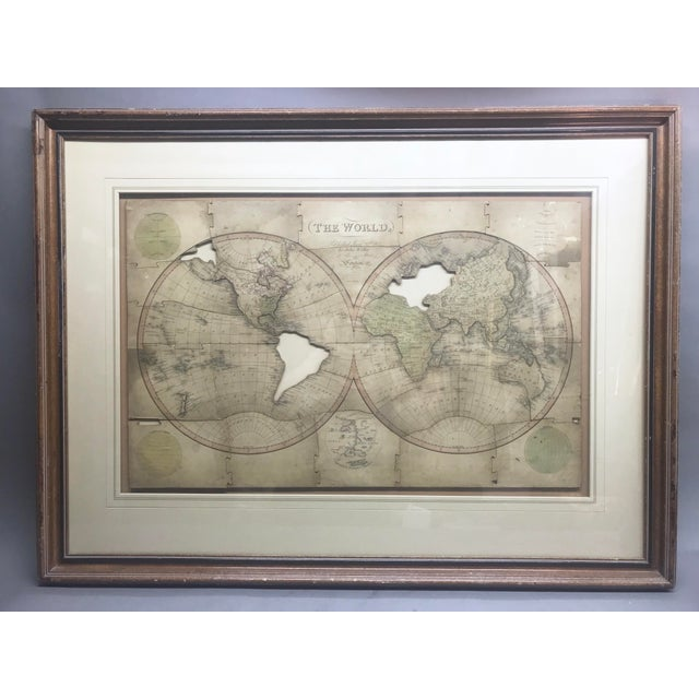 John Wallis's New Dissected 1812 Puzzle World Map For Sale - Image 10 of 10