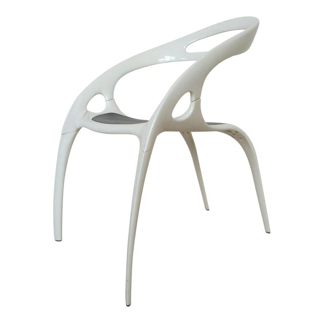 "Ross Lovegrove White Lacquer ""Go"" Chair - Image 1 of 6"