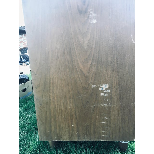 Sienna 1974 Broyhill Premier Division Credenza With Mirror For Sale - Image 8 of 12