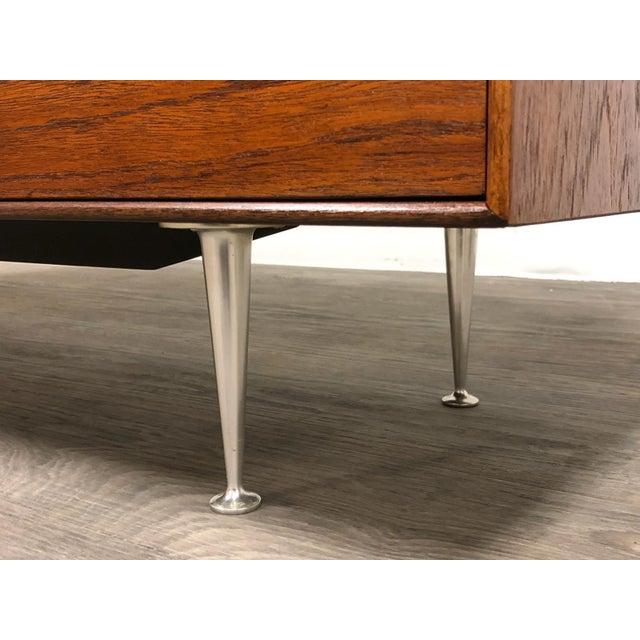 George Nelson for Herman Miller Thin Edge Teak Dresser For Sale - Image 9 of 12