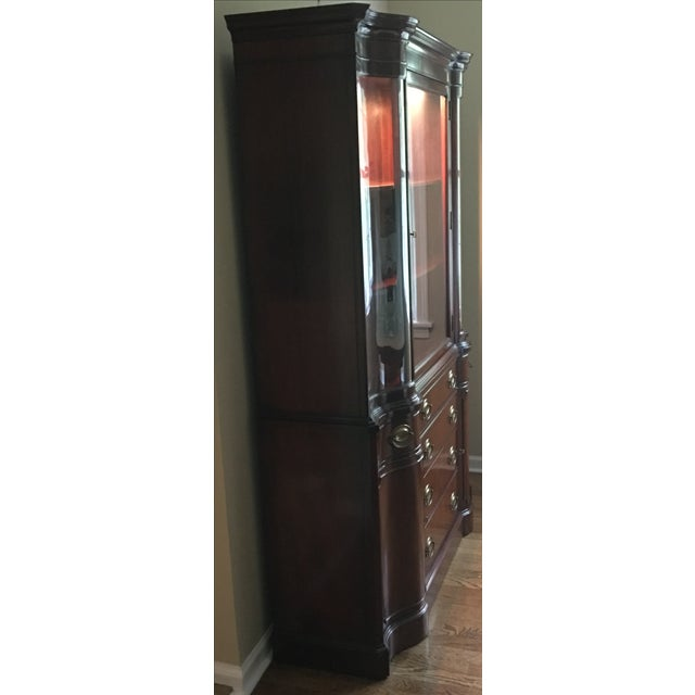 Drexel Mahogany Meriden Collection China Cabinet - Image 5 of 5