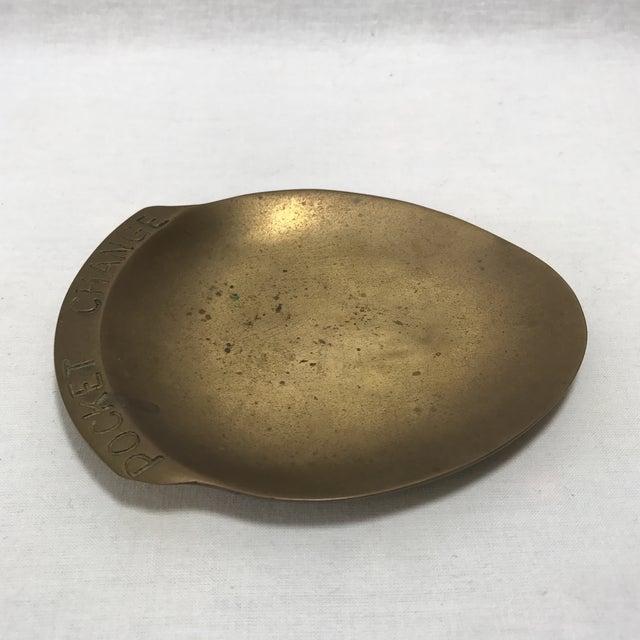 Vintage Brass Pocket Change Dish - Image 4 of 9