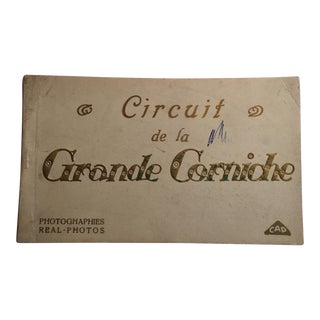 Antique French Postcard Booklet Real Photos For Sale