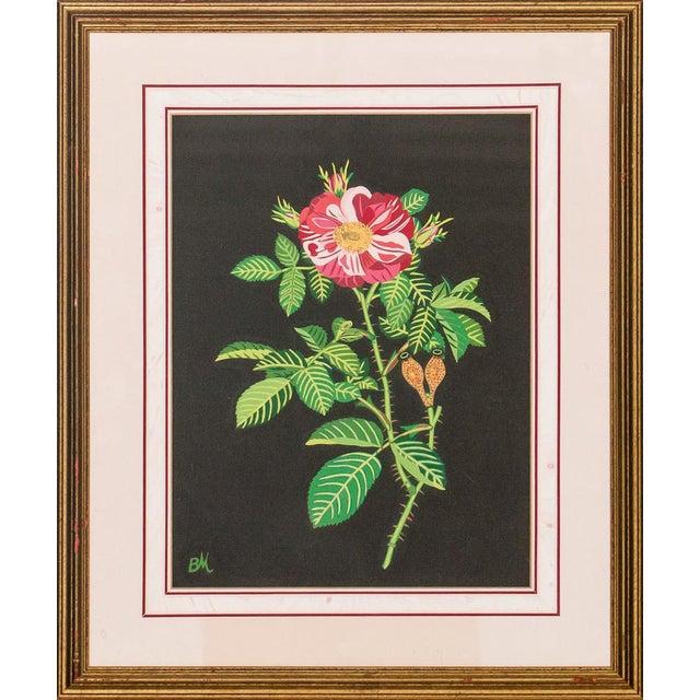"""Decoupage Flower"" For Sale"