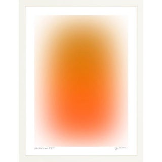 """""""Color Cloud 6"""" Contemporary Abstract Print by Jessica Poundstone, Framed For Sale"""