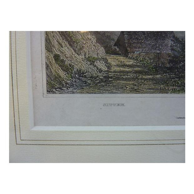 Sitten Switzerland Framed Lithograph - Image 5 of 5