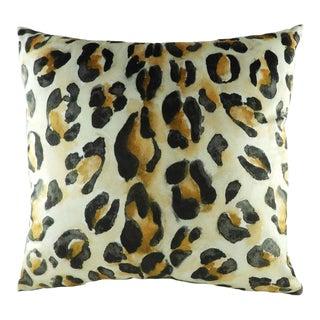 Leopard Print Cushion For Sale