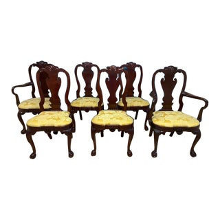 Kindel Winterthur Collection Dining Chairs - Set of 6 For Sale
