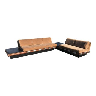 1960s Vintage Adrian Pearsall Sectional Sofa For Sale