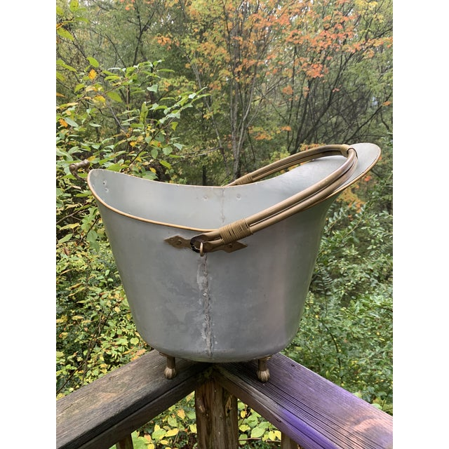 Antique Bathtub Water Scuttle, 10 Gallons For Sale - Image 13 of 13