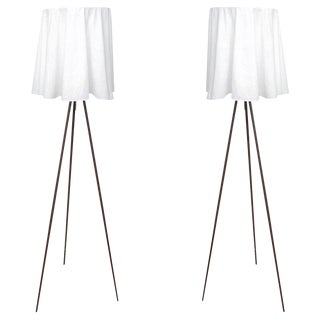 Rosy Angelis Floor Lamps by Philippe Starck for Flos.- a Pair For Sale