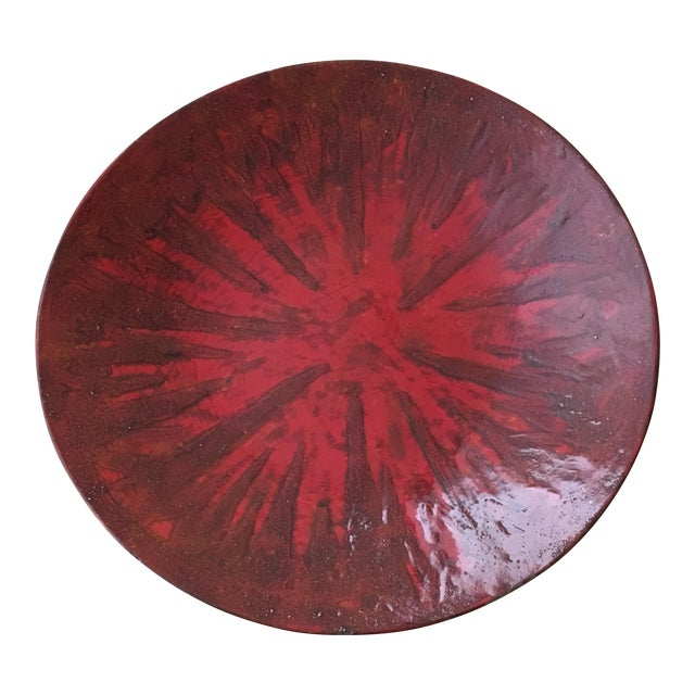 Vintage Lacquered Center Bowl - Image 1 of 3