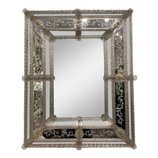 Vintage Murano Mirror For Sale
