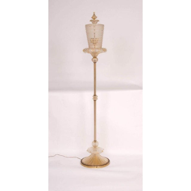 High-End Important Modern Neoclassical Murano Glass Floor Lamp by ...