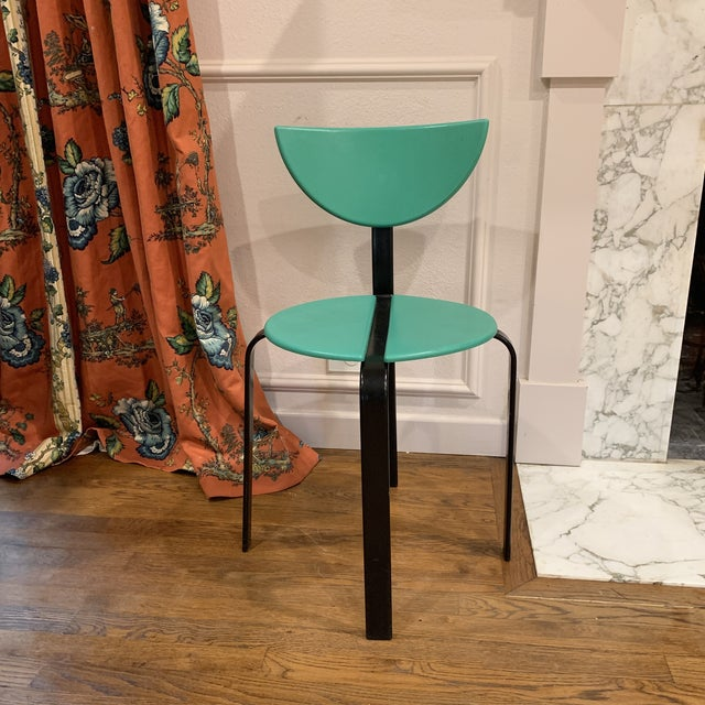 1980s Post Modern Bks Denmark Chair For Sale In Dallas - Image 6 of 6