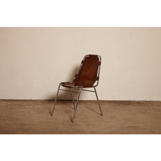 Les Arcs' Chairs Selected by Charlotte Perriand, 1970s For Sale - Image 9 of 9