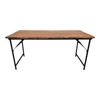 Recycled Wood Desk/Dining Table by Roost