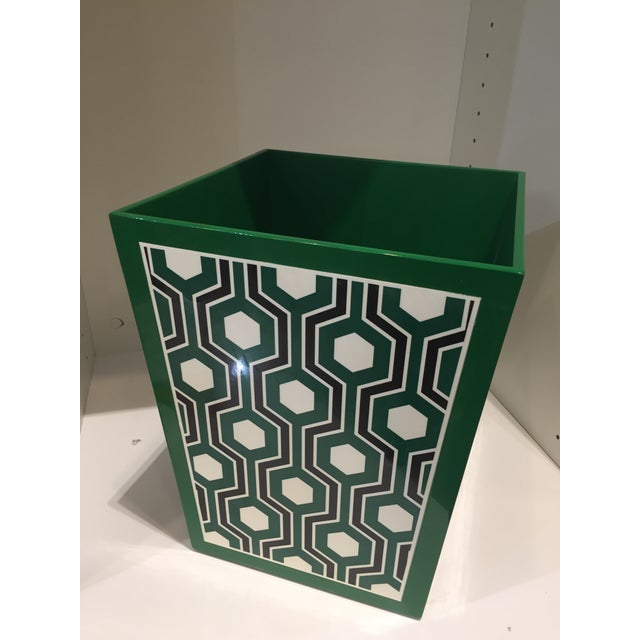 Contemporary Bungalow 5 Sasoon Waste Basket For Sale - Image 3 of 5