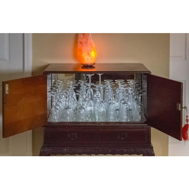 Mirrored Liquor Cabinet - Image 7 of 11