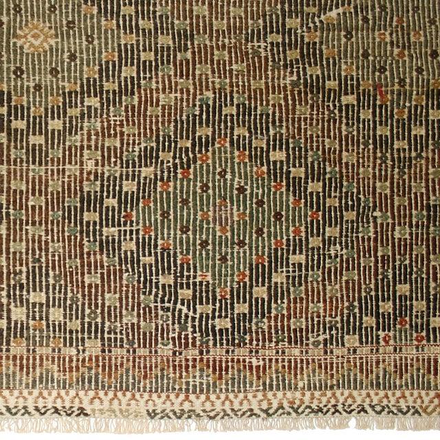 Earthy Vintage Turkish Flatweave Kilim - 6' X 9'6 - Image 4 of 6