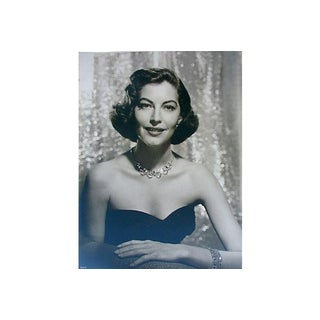 1950s Photo of Eva Gardner by Virgil Apger