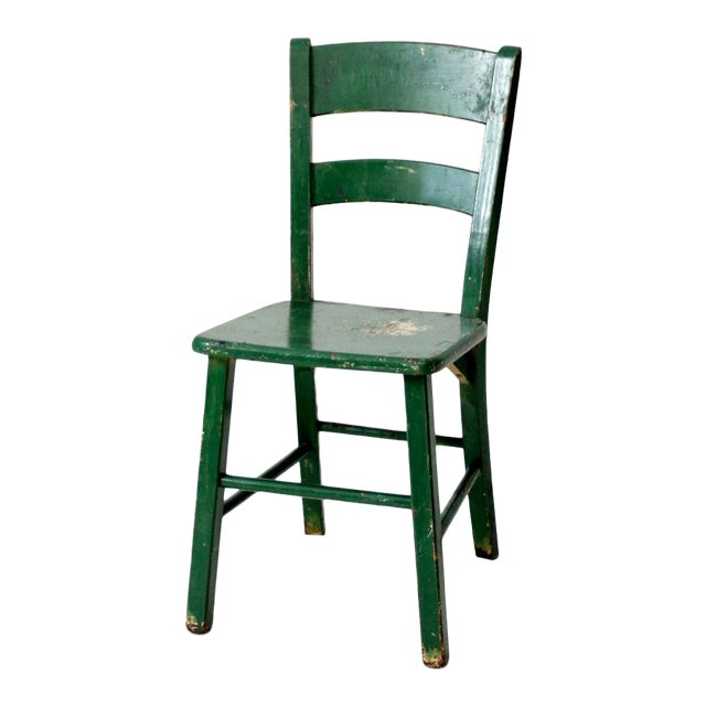 Admirable Vintage Painted Wood Chair Home Interior And Landscaping Oversignezvosmurscom