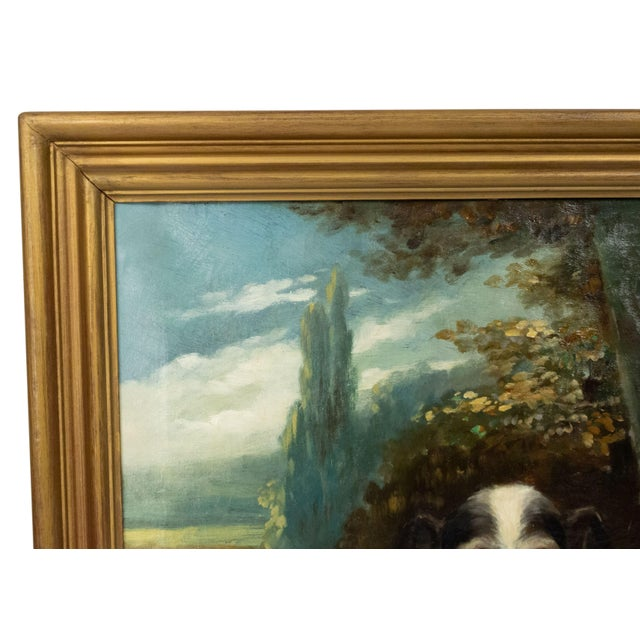 French Victorian Terrier Oil Painting For Sale In New York - Image 6 of 7