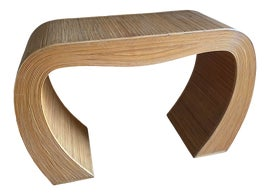 Image of Rattan Console Tables