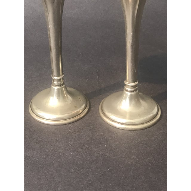 Art Nouveau Bud Vases - a Pair For Sale In San Francisco - Image 6 of 8