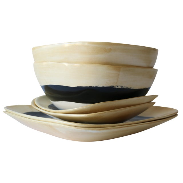 6-Piece Americaware by A. Mallory Dinnerware Set - Image 1 of 5