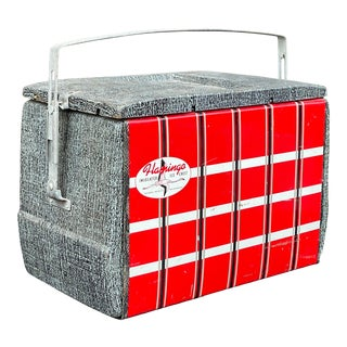 1950s Flamingo Insulated Ice Chest Cooler For Sale