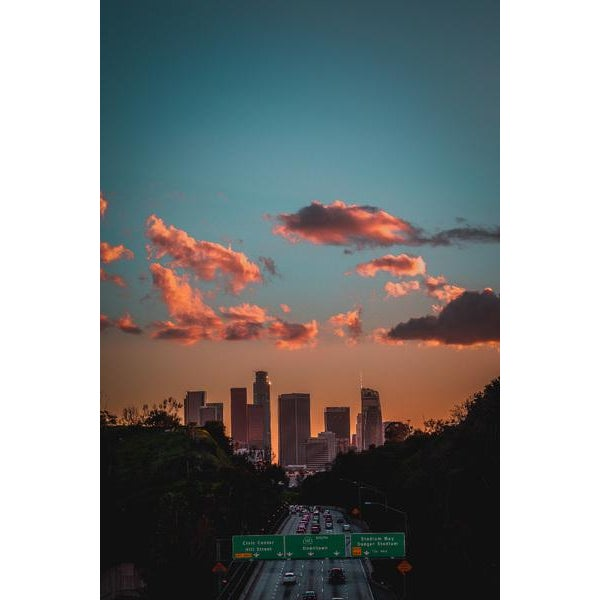 """Photographer Jason Mageau captures the gorgeous sunset views as the sun goes down over the """"City of Angels"""" (Los Angeles,..."""