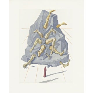 Salvador Dalí­ Hell Canto #21, The Divine Comedy (Field 199) 1959-1964 For Sale