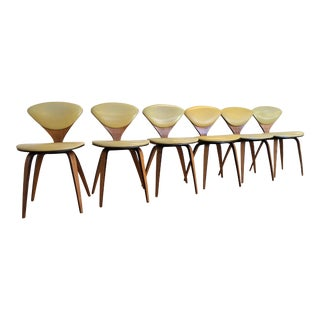 Cherner Plycraft Vintage Dining Chairs, Set of 6 For Sale