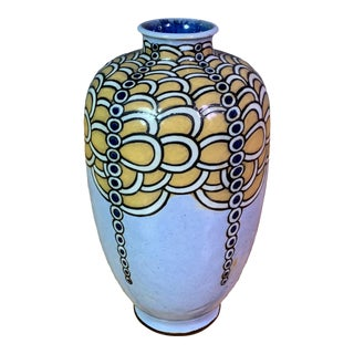 1920s Harry Simeon Sessionist Vase, Royal Doulton, England For Sale