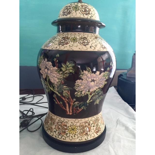 Vintage Ginger Jar Lamps - A Pair - Image 6 of 9