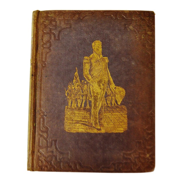 1847 Pictorial Life Of General Lafayette Hardcover Book - Image 1 of 11
