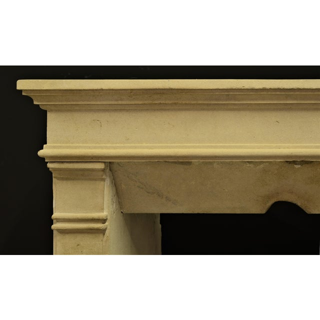 Mid 19th Century Antique Fireplace Mantel From France For Sale - Image 5 of 9
