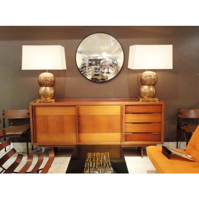 Mid-Century Modern Andre Sornay Private Commission Sideboard, France 1959 For Sale - Image 3 of 10