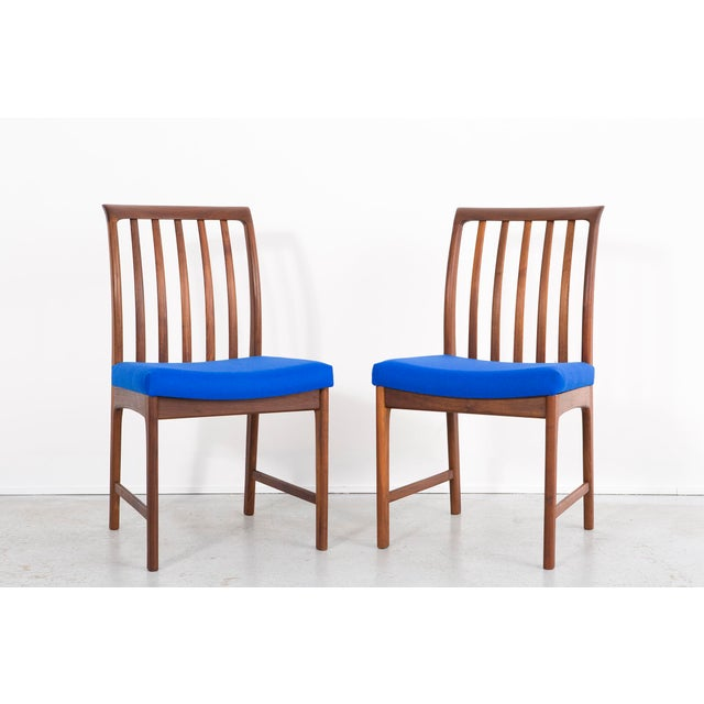 Royal Blue 1960s Set of Dux Dining Chairs For Sale - Image 8 of 13