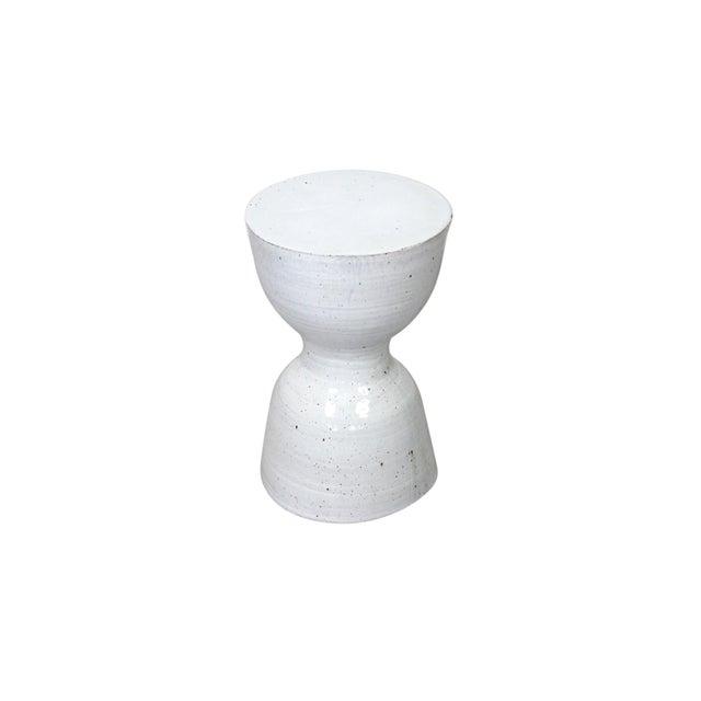 1980s Large Tariki Ceramic Stool For Sale - Image 5 of 12