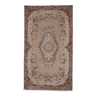 Vintage Turkish Sparta Rug With Russian Baroque Style 3'10'' X 6'7'' For Sale