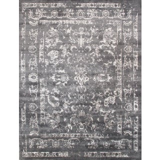 """Bamboo Silk Rug - 12'1"""" x 15'4"""" For Sale"""