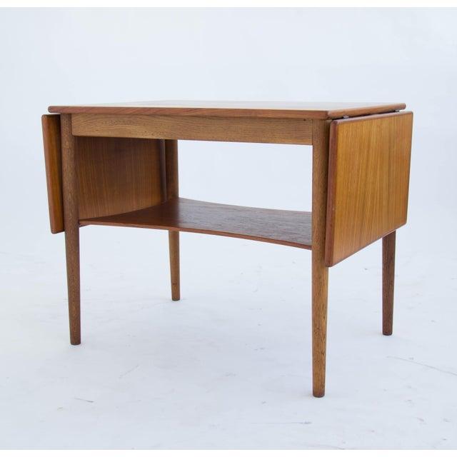 Borge Mogensen Drop Leaf Side Table - Image 2 of 6