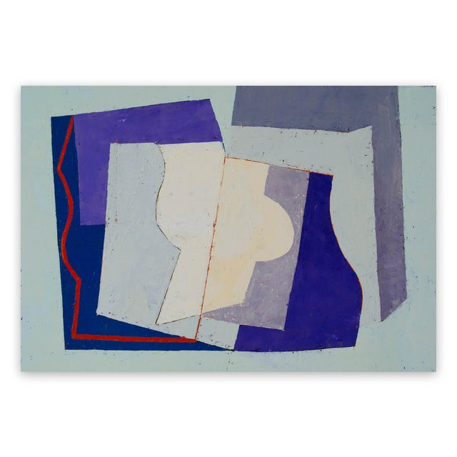 "Jeremy Annear Jeremy Annear ""Counterpoint (Harbour)"", Painting For Sale - Image 4 of 4"