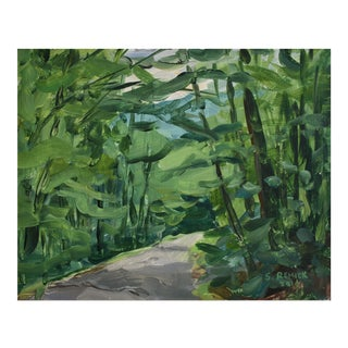 """Country Road"" Plein Air Painting For Sale"