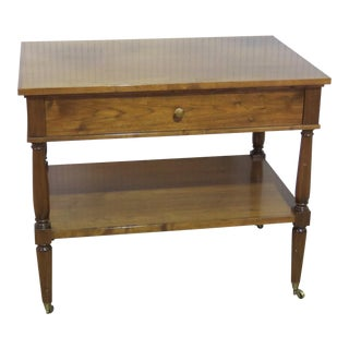 Regency Style Wooden Server For Sale