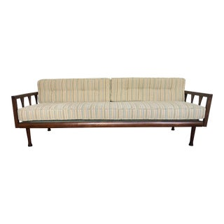 Danish Modern Sofa Daybed Walnut MCM Selig Era Mid Century Modern For Sale